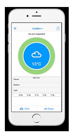 RainToday - real-time rain alerts and high resolution radar